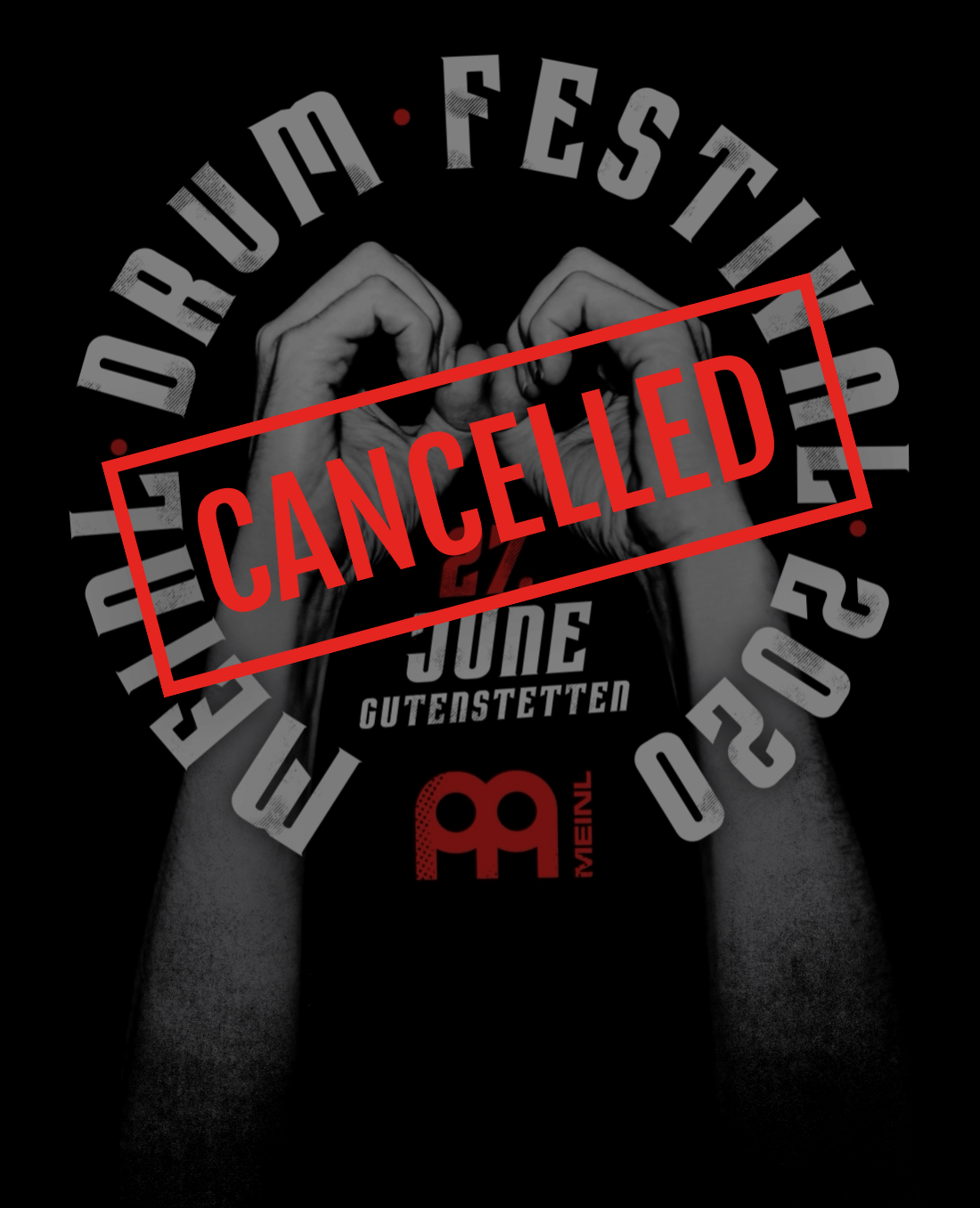 Meinl Drum Festival 2020 - cancelled